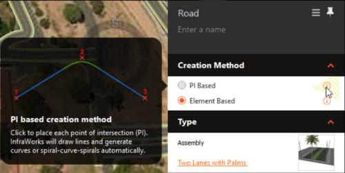 Roads PI based